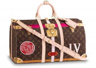 Louis Vuitton Keepall Bandouliere Monogram 50 Summer Trunk