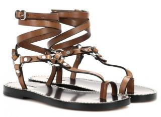 Isabel Marant Joxxy Brown Gladiator Sandals