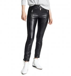 Isabel Marant Etoile Zaperry biker style faux leather trousers