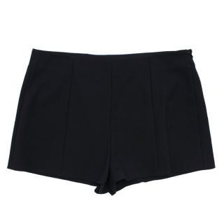 Red Valentino Black Tailored Mini Shorts