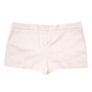 Elizabeth and James Cream Jacquard Shorts