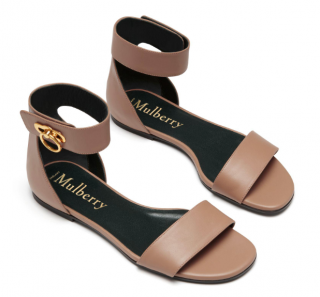 Mulberry Amberley Flat Sandals