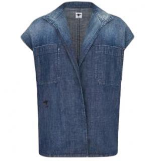 Dior Denim Open Vest/Jacket