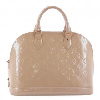 Louis Vuitton Beige Alma PM Tote Bag