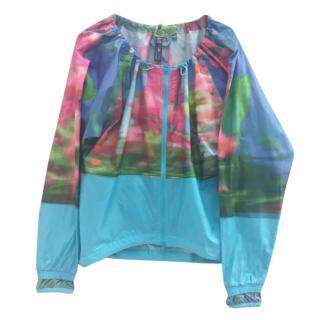 Stella McCartney Watercolour Rain Jacket/Top