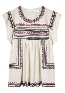 Isabel Marant Dumas Embroidered Top