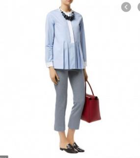 MaxMara light blue  cotton shirt