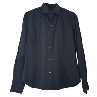 Dolce & Gabbana Marine Blue Men's Shirt