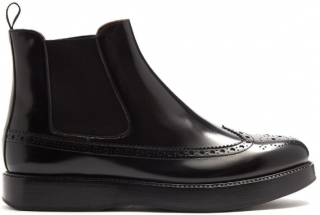 Church's Black Sue Polished-leather Chelsea Boots