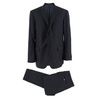 Corneliani Single Breasted Navy Two-Piece Suit