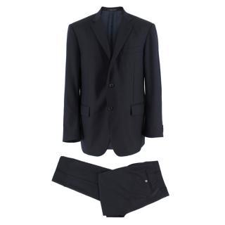 Corneliani Single Breasted Navy Two-Piece Suit