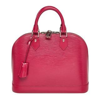 Louis Vuitton Fuchsia Epi Leather Alma PM Tote Bag