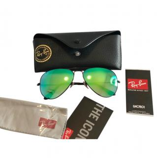 Ray Ban Icons Mirrored Sunglasses