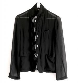 Comme des Garcons vintage lightweight black jacket