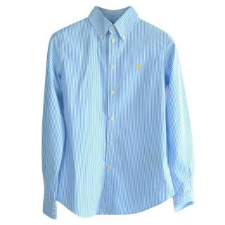 Ralph Lauren Blue Striped Shirt
