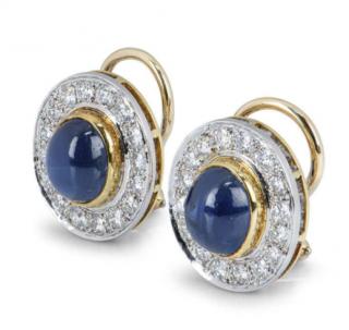 Van Cleef & Arpels Sapphire Earrings with Diamonds