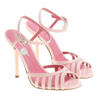 Blumarine Pink Sandalo Ankle Strap Sandal