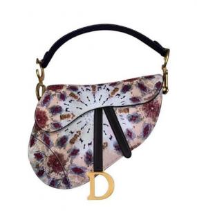 Dior kaleidiorscopic mini saddle bag
