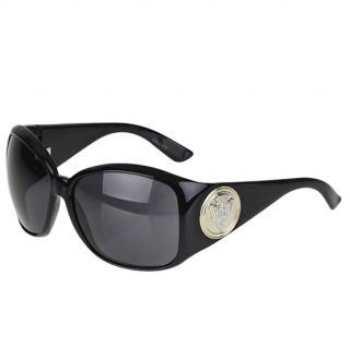 Gucci 3027/S Black Frame GG Crest Sunglasses