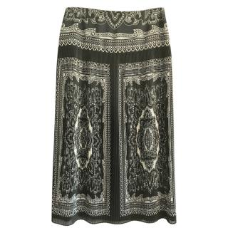 Luisa Spagnoli Pleated Maxi Skirt