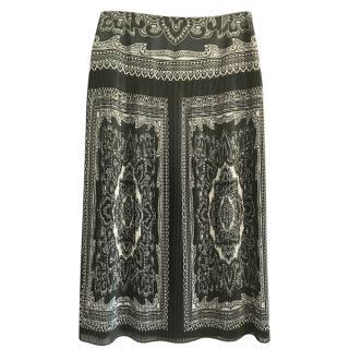 Luisa Spagnoli Pleated Maxi Skirt