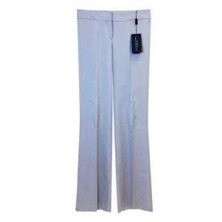 Burberry Prorsum Grey Wide Leg Pants