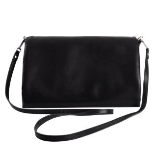 Rick Owens Medium Black Leather Crossbody Bag