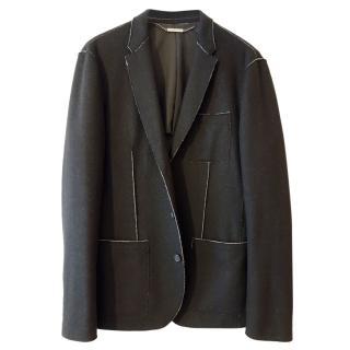 Michael Kors Black Exposed Seam Tailored Jacket