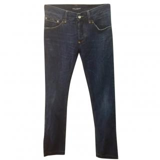 Dolce & Gabbana Relaxed Straight Leg Jeans