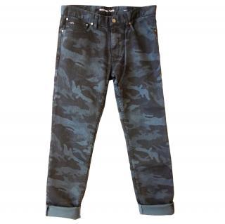 Michael Kors Camo Print Jeans