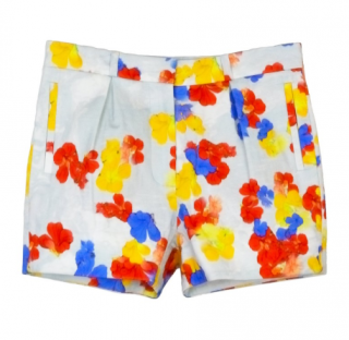 Erdem Floral Print Tailored Shorts