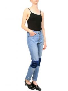 Anine Bing Vintage Wash Distressed Jeans