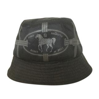 Fendi black/brown Seller bucket hat