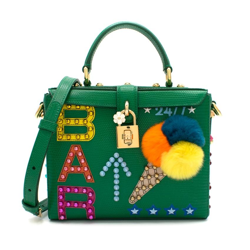 Dolce & Gabbana Green Ice Cream Bar Box Bag