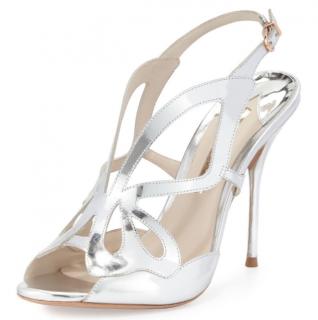 Sophia Webster Metallic 100mm Madame Butterfly Sandals