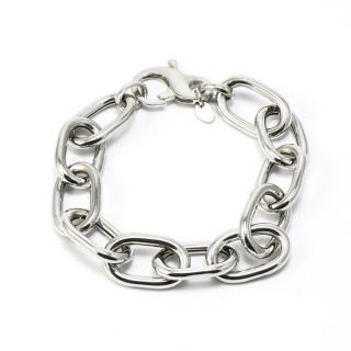 Idandi Sterling Silver Chain Link Bracelet