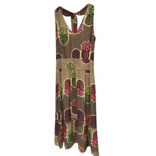 Moschino Cheap & Chic Pineapple Print Shift Dress