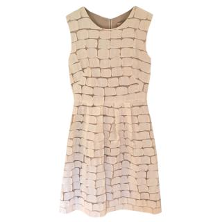 Lela Rose Cream Summer Dress