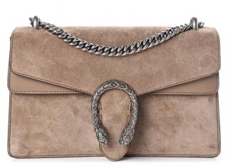 Gucci Suede Small Dionysus Shoulder Bag