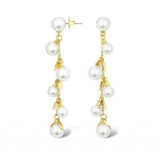 Salvatore Plata Freshwater Pearl Drop Earrings