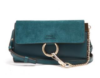 Chloe Mini Faye Leather & Suede Cross-body Bag