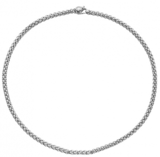 FOPE 18ct White Gold Rope Unica Necklace