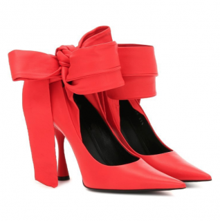 Balenciaga Dance Knife Red Leather Pumps