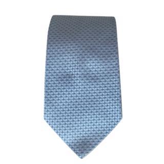 Armani Collezioni Silk Pale Blue Jacquard Tie