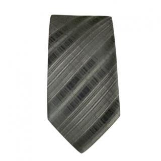 Armani Collezioni Grey Jacquard Tie