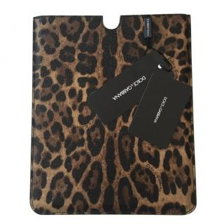 Dolce & Gabbana Saffiano Leather iPad Case