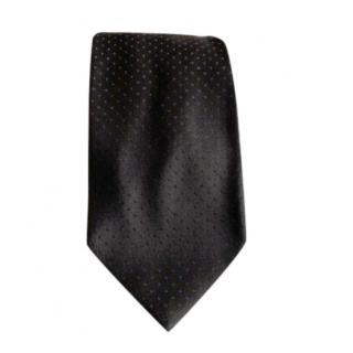 Dolce & Gabbana silk black tie