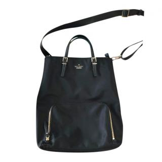 Kate Spade Black Leather Laptop/Business Tote