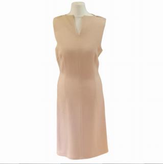 Bottega Veneta Cream Open Back Dress