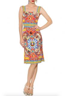 Dolce & Gabbana Carretto Print Dress
